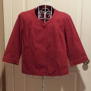 Talbots Swing Jacket